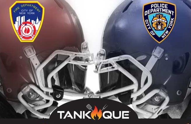 Volunteers Needed for 9/11 Tribute, Annual NYPD vs FDNY Football Game Tailgate